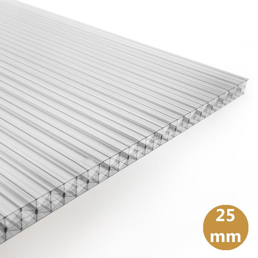 Polycarbonaat Kanaalplaat 25 mm