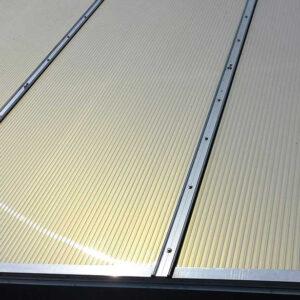 Polycarbonaat Kanaalplaat IR Gold 32 mm